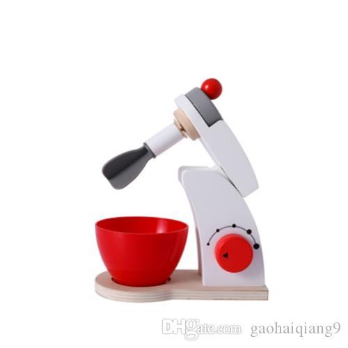 Juguetes de madera para niños Juegos de imaginación Juego de juguetes de cocina de madera chica simulación vajilla cocinar arroz niño bebé regalo de cumpleaños