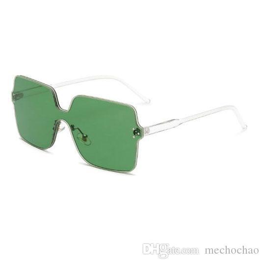 Топ женские фирменные солнцезащитные очки негабаритные сиамские солнцезащитные очки ветрозащитные заклепки большие тонкие оправы солнцезащитные очки мужские и женские очки для отправки коробки