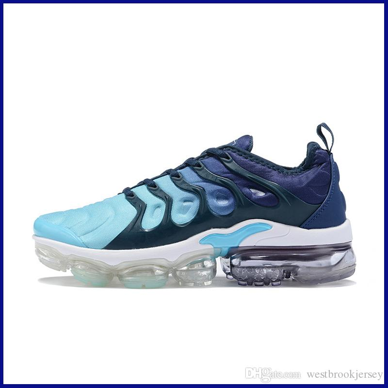 Marca TN Plus diseñador para hombre de las zapatillas de deporte al aire libre Tns zapato zapatos Gym Fitness Blanco Negro Gris Deporte Formadores Chaussures barato