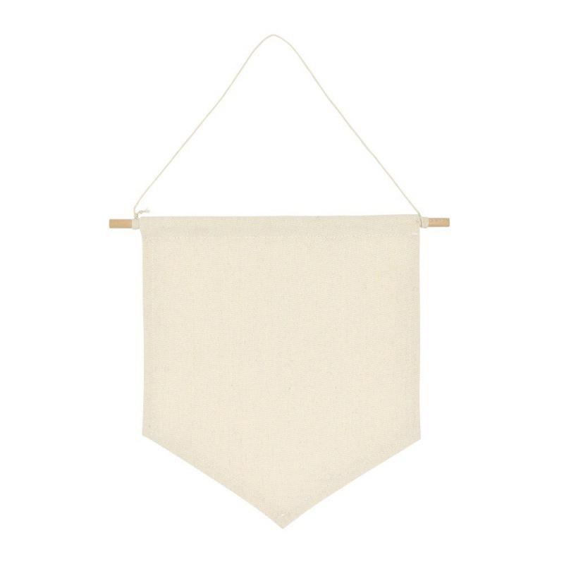 Blank Cotton Pin mur Boutons Afficher Pennant Bannière Badge et collections Lapel