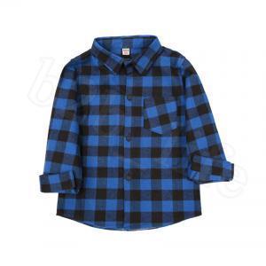 Camisetas de manga larga a cuadros para niños 9 Estilos Baby Boys Girls Algodón Tops casuales Tallas de camisetas Camiseta Blusa OOA6337