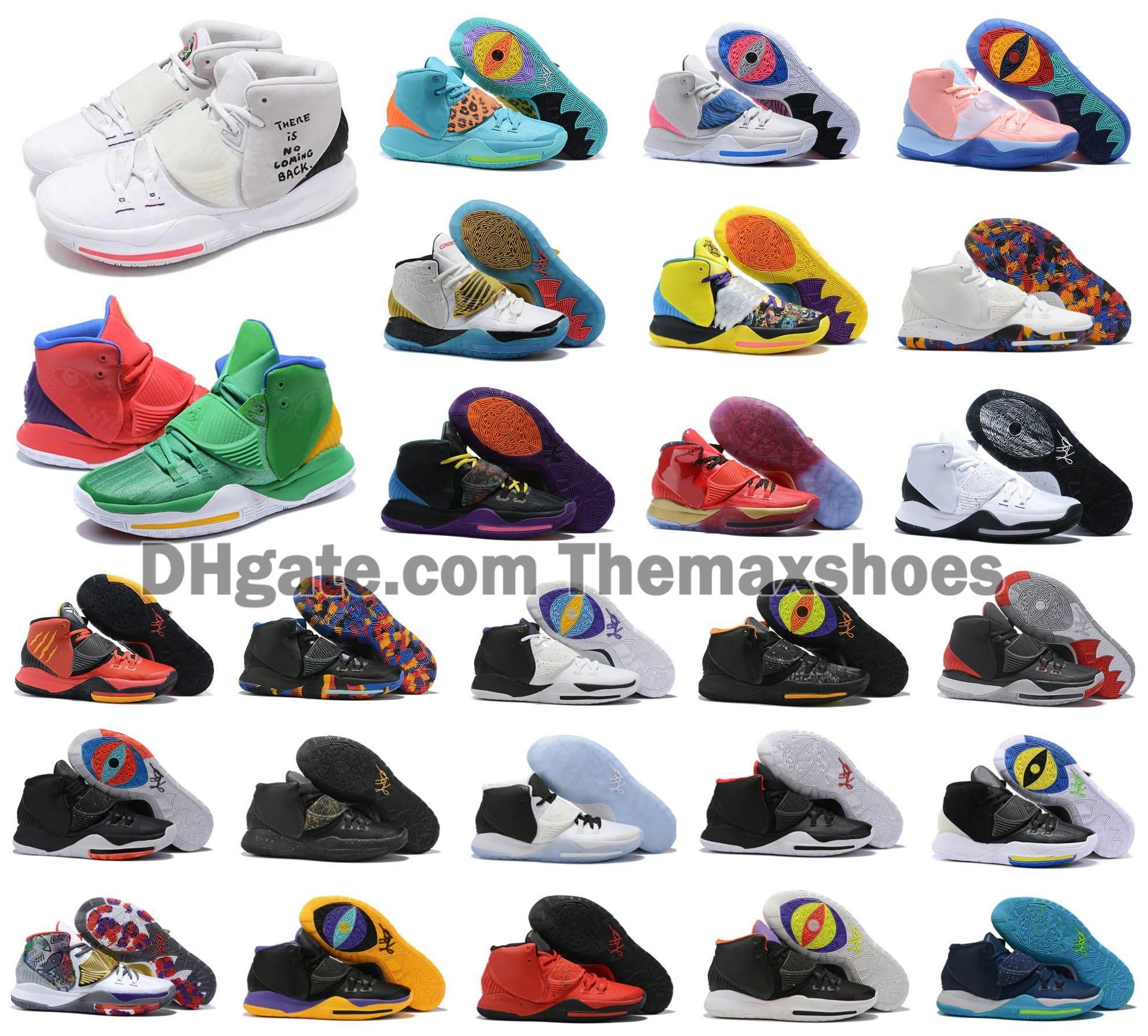 Sıcak 2020 erkek Kyrie VI erkek basketbol ayakkabıları Irving 6 S 6 kızlar kadınlar 11 Zoom spor Sneakers 40-46