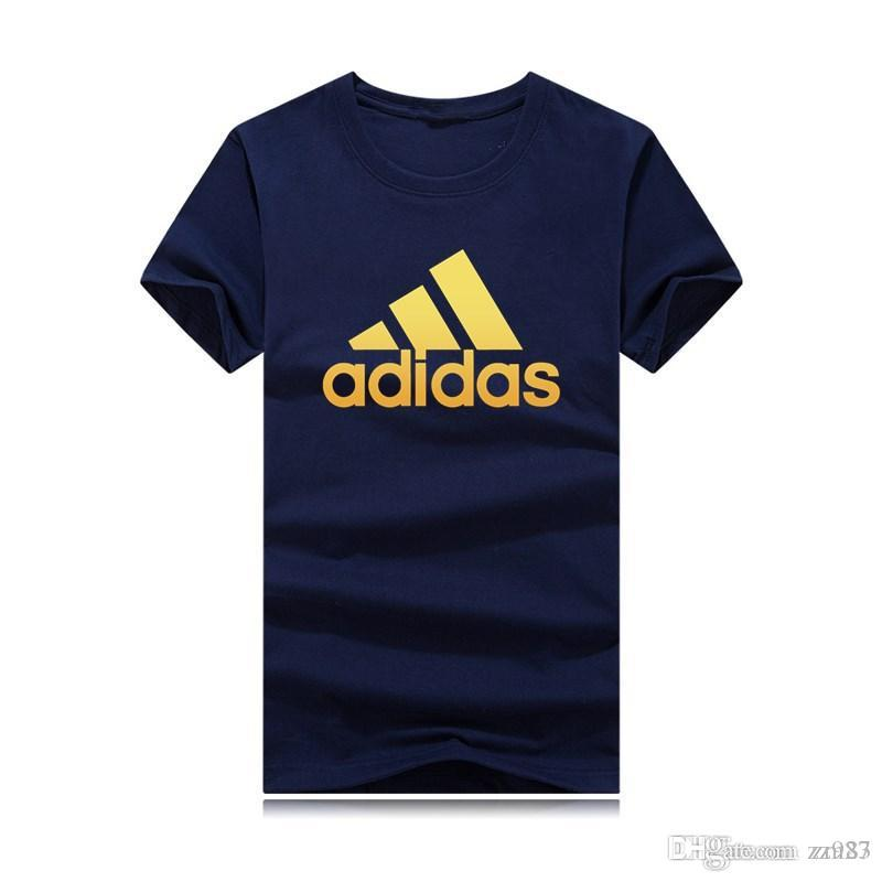 2019 camisetas para los hombres Las mujeres Gran Tamaño logotipo de la marca camiseta de verano casual para hombre camiseta ropa del diseñador de moda marea impresión de la letra de la manga corta Tops