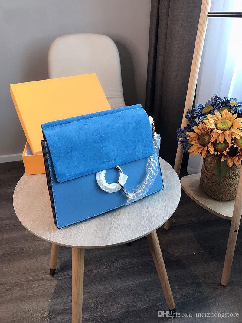 Monedero del diseñador de lujo de estilo totalizadores de la manera anillo de Chloé bolsos del monedero de las mujeres del monedero Ninguna señoras del diseñador de lujo con la caja