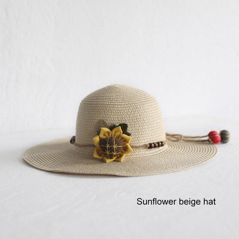 Nouvellement Chapeau Bag Set large Brim chapeaux de paille Cap simple sac à bandoulière pour enfants 19ing printemps Summer Beach