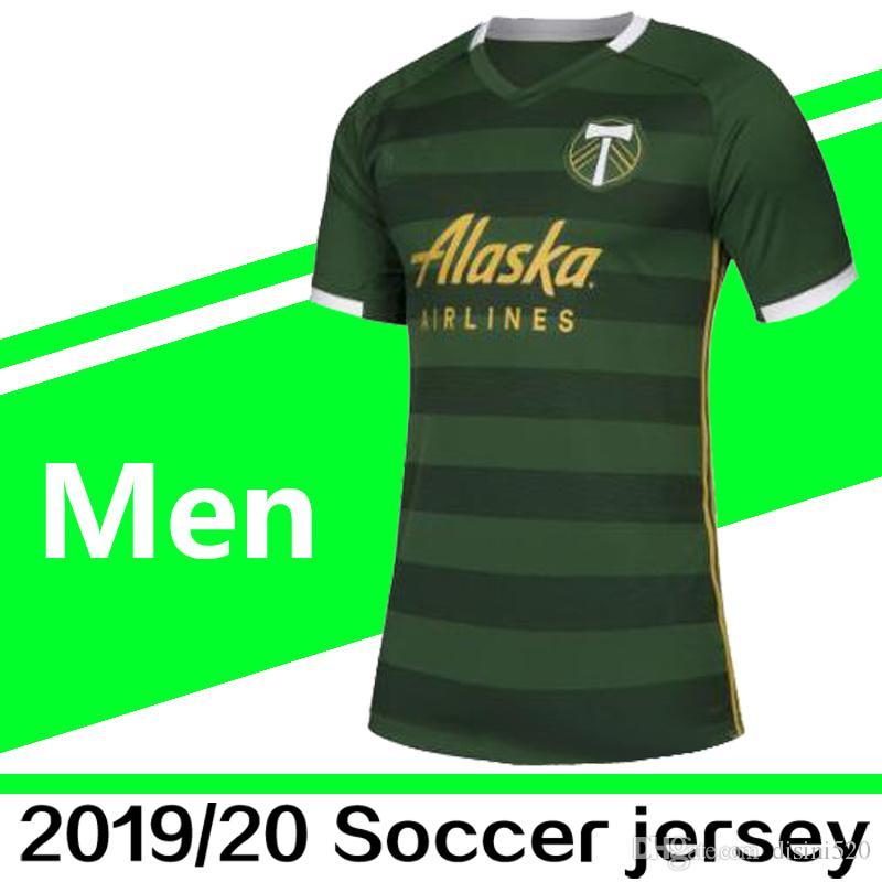 buy popular ea528 b60e1 2019 New 2019 2020 Men'S Portland Timbers MLS Soccer Jerseys 19/20 BLANCO  CHARA VALERI Home Jersey Camiseta De Futbol VALENTIN Football Shirt From ...