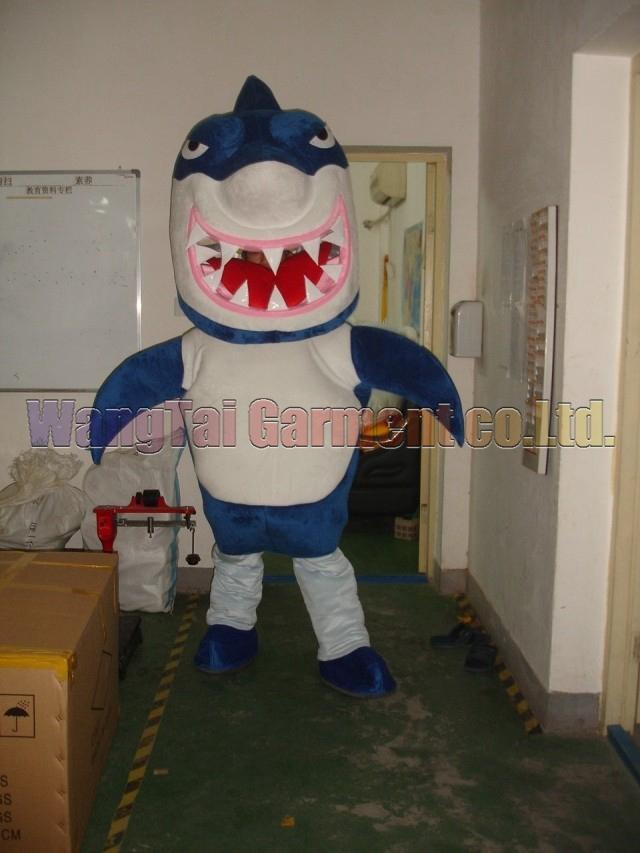 Новый акула костюм талисмана высший сорт делюкс мультфильм костюмы большой акула костюм талисмана необычные платья карнавал Бесплатная доставка