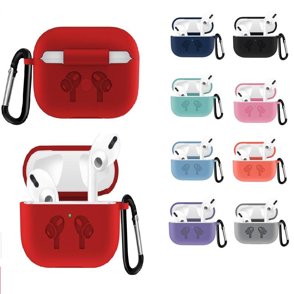 2020 Silicone Case For Airpods Pro Case Anti Fall Waterproof