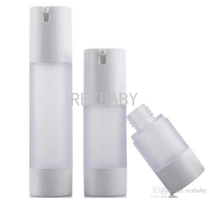 15ML 30ML 50ML زجاجة الرش متجمد / ماتي فراغ زجاجة محلول زجاجة تستخدم لمستحضرات التجميل Containe الشحن السريع