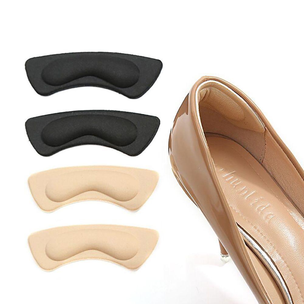 Sapatos de salto alto Voltar salto de espuma Pads Palmilhas Pés da vara alívio da dor invisível Almofada Insira Pads Self Adhesive