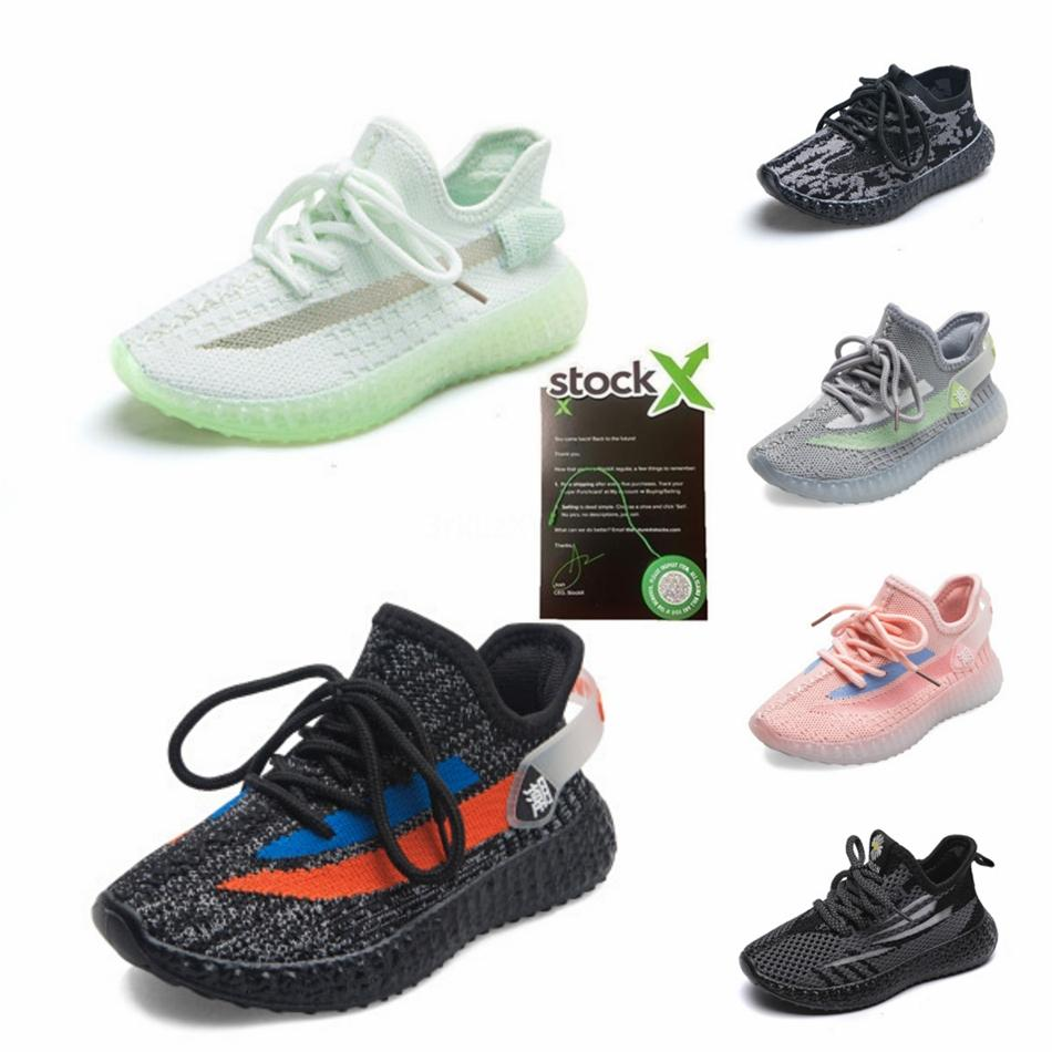 2020 Kanye West 380 Mist Reflective Alien Supcol Pepper Kids Running Shoes With Box Top Quality Designer Sneakers Outdoor Sport Shoes #160
