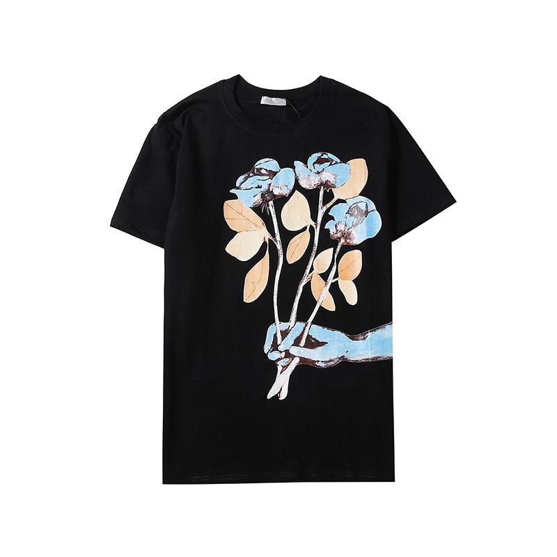 2020ss Yeni Geliş Marka Tasarımcı Erkekler Kadınlar Tişört Asya Boyut S-2XL Sıcak Satış Yaz Gömlek Moda unsex Yaz Kısa Kollu B105801D Tops