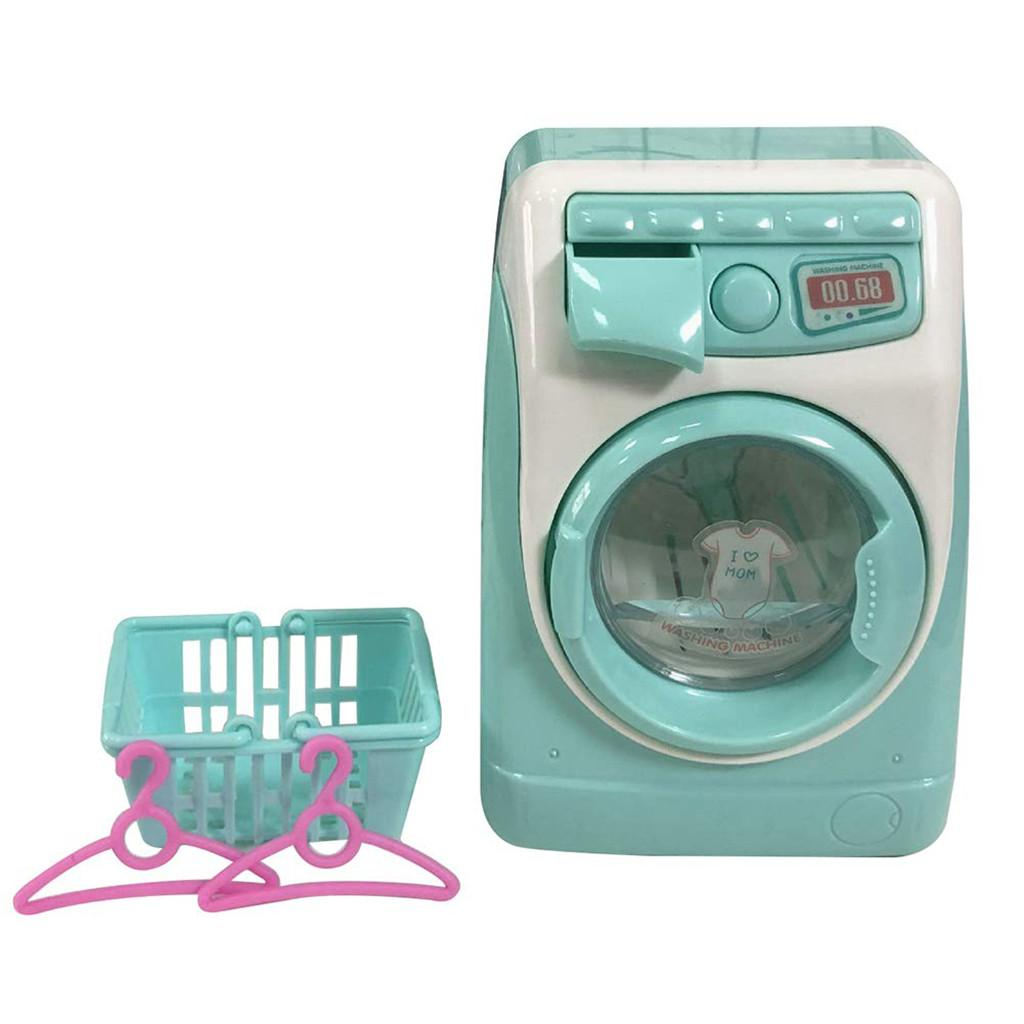 Enfants Toy Pretend Jeu de rôle pinceau de maquillage Cleaner dispositif de nettoyage automatique Machine à laver Mini Classique Enfants Jouets éducatifs