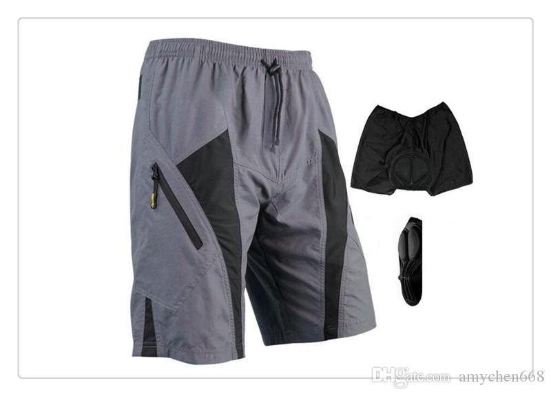 Outdoor Shorts Santic Downhill Herbalife Cycling Bike Shorts Bicycle Clothing Gel Shorts For Men