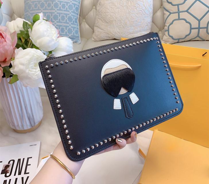 Сумка 5a Мода с сумками сцепления Сумки на настоящих женских кошельке Верхняя кожа Коробка сумочек Вером