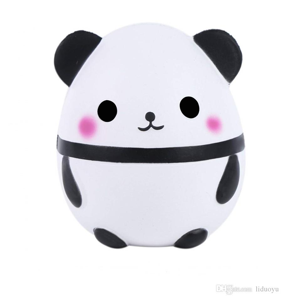 Cute Panda Kawaii Scented Squishies Very Slow Rising Kids Toys Doll Gift Fun Collection Stress Relief Toy Hop Props Decorative Props