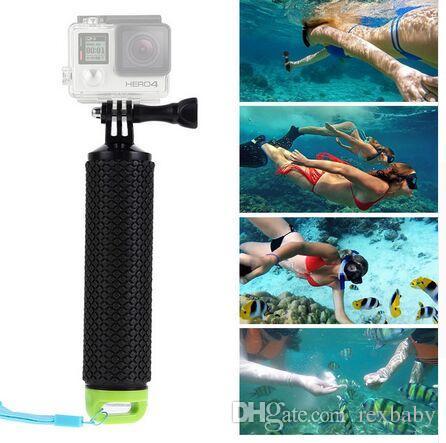 Empuñadura flotante impermeable para GoPro Camera Hero 7 Session Hero 6 5 4 3+ 2 Manejador de cámaras de acción de deportes acuáticos