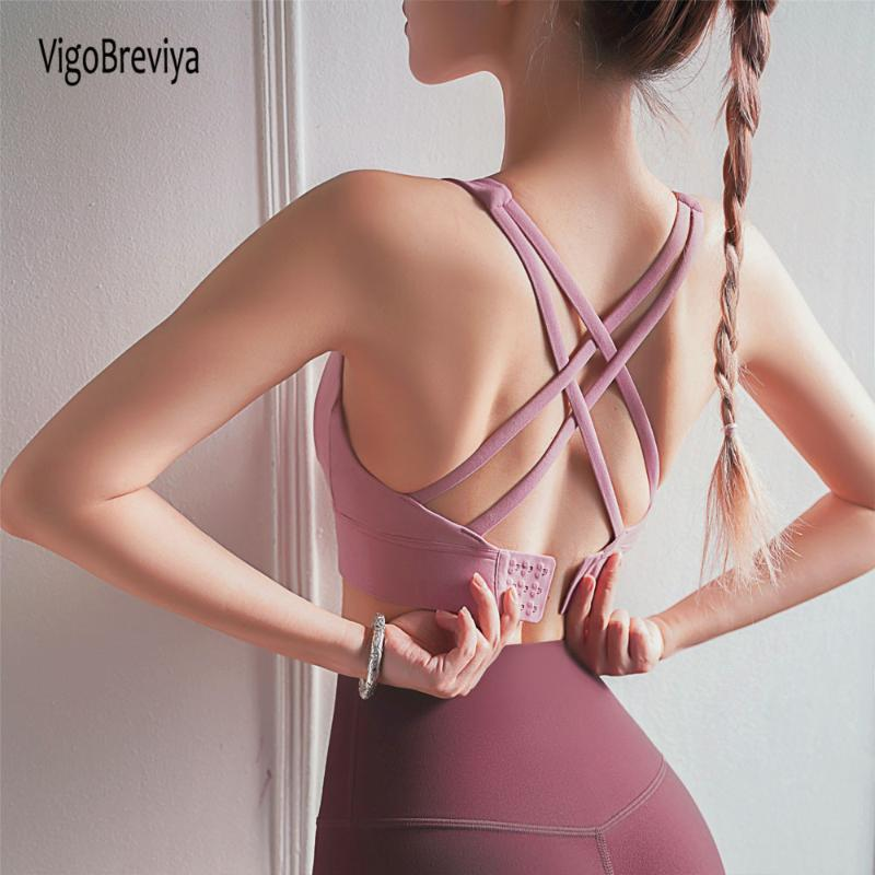 Women Push Up Seamless Sports Bra Female High Impact Workout Sport Top Crop Fitness Wear For Yoga Gym Brassiere Vest Sportswear
