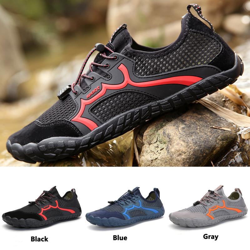 Unisex Verão Caminhadas sapatos Quick Dry Confortável água calça as sapatilhas de escalada resistência à flexão Upstream Meias elásticas externas