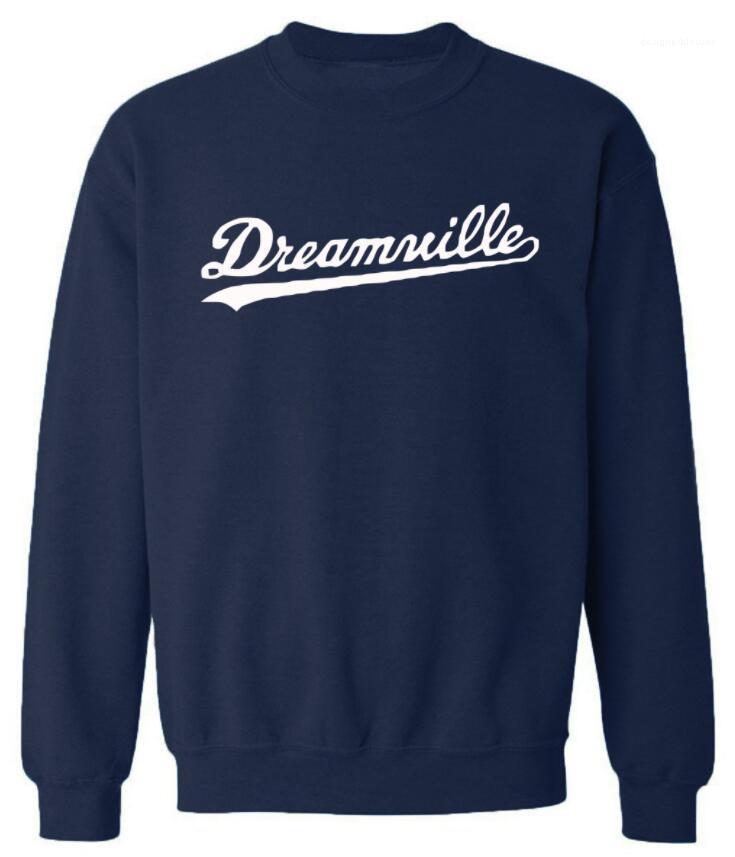 Топы Весна пуловеры хип-хоп Harajuku толстовки мужчины O-образным вырезом Dreamwille письма дизайнер толстовки