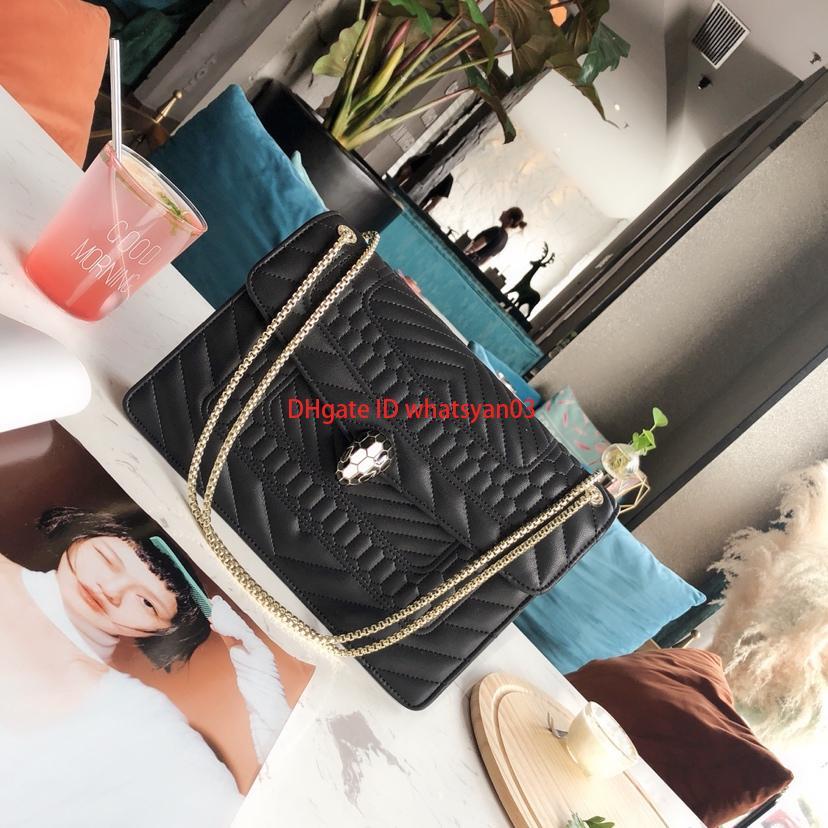 Neu eingeführte Designer-Umhängetaschen für Damen Flap Chain Shoulder Bag Designer-Umhängetaschen für Damen Vielseitiger Trend eleganter Gesamtverkauf