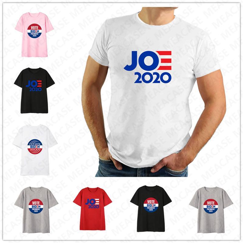 Kadınlar Erkekler Joe Biden 2020 Bize Seçim Mektupları Baskı tişört Unisex Yaz Üst Tees Yetişkin Günlük Spor Kısa Kollu shrit Tee D7209