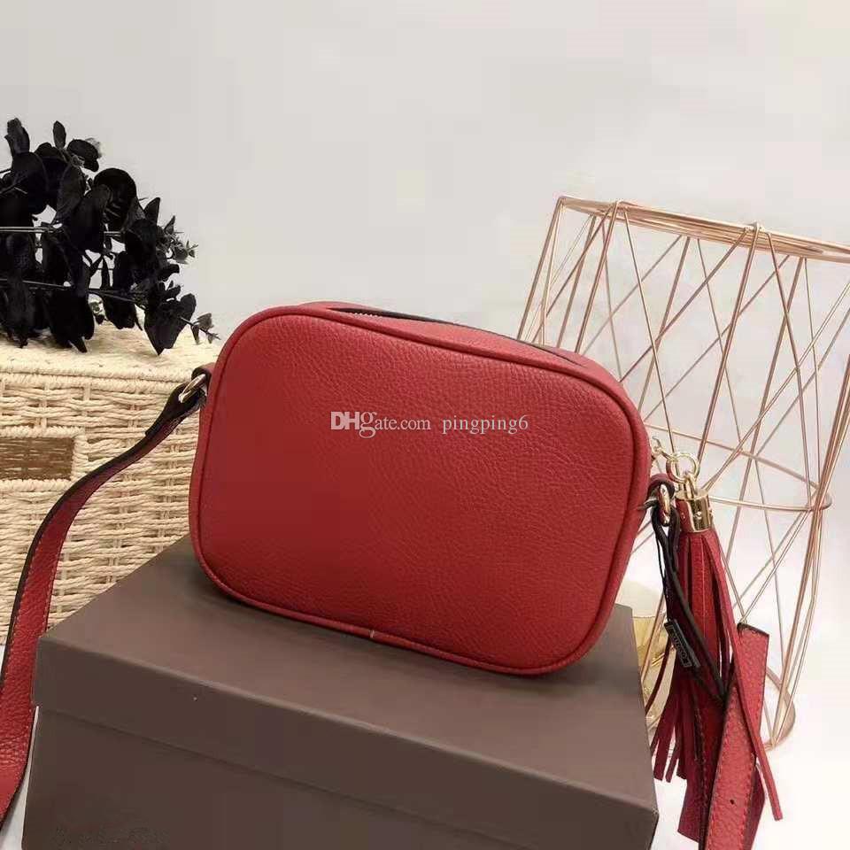 Freeship Classic stlye Best-seller novo single-ombro bag saco de borla projetado famosos designers europeus e americanos mais cores
