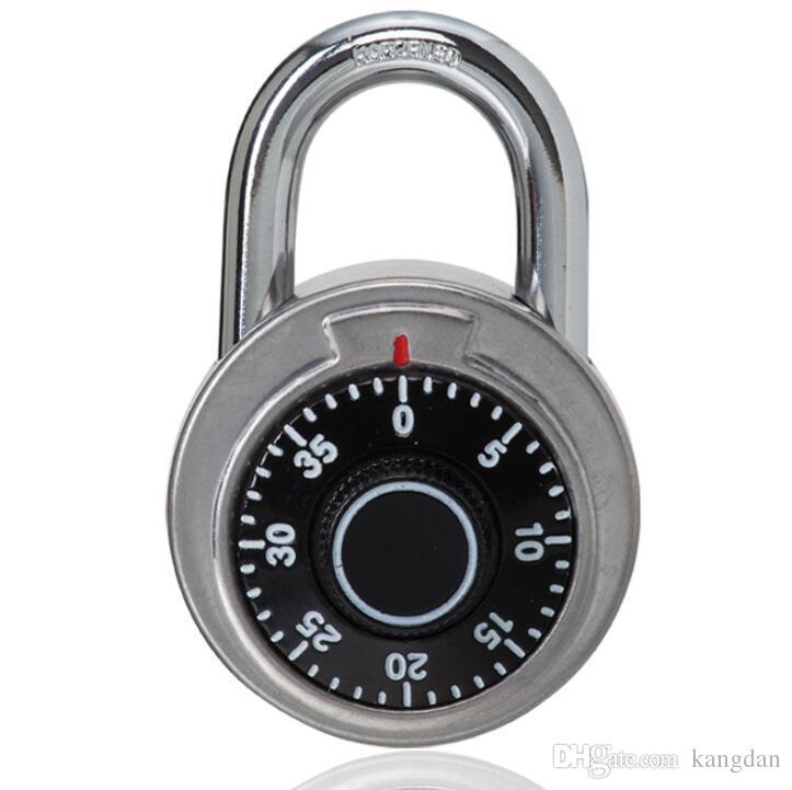 Endurecido Aço Manilha Combinação Disque Locker Locker Cadeado de Segurança para Caixas de Ferramentas Guarda-roupa Anti-Roubo Fechaduras de Porta