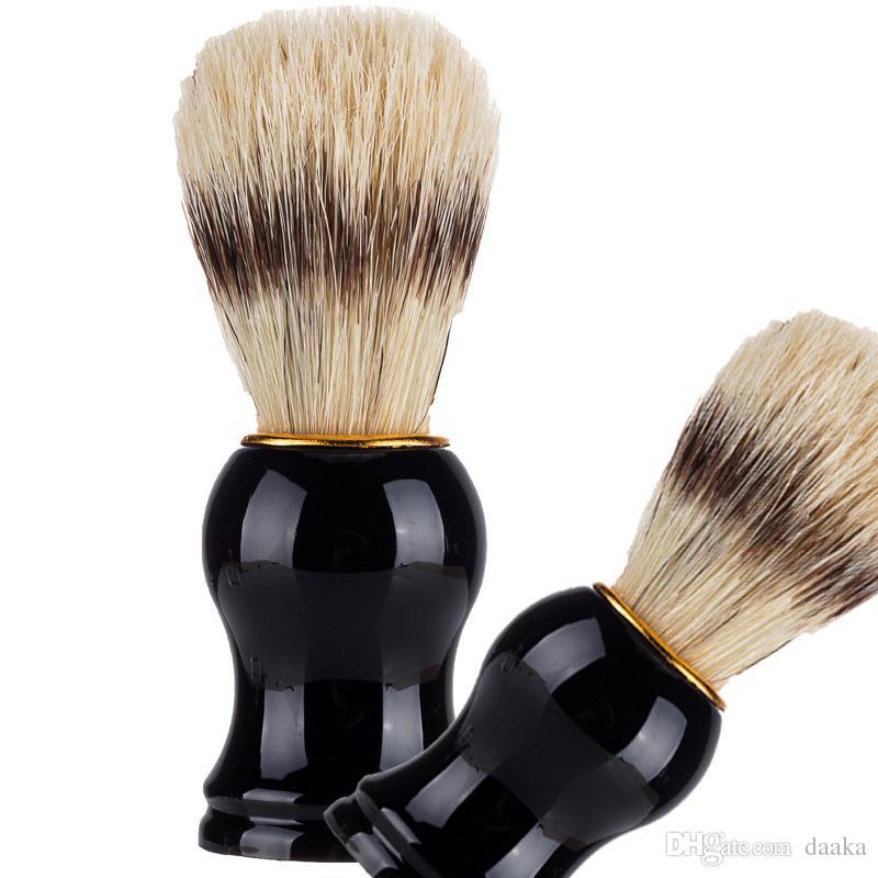 Dachs Haar Männer Rasierpinsel Friseur Salon Männer Gesichtsbark Reinigung Appliance Rasur Werkzeug Männer Bartbürste Reinigung