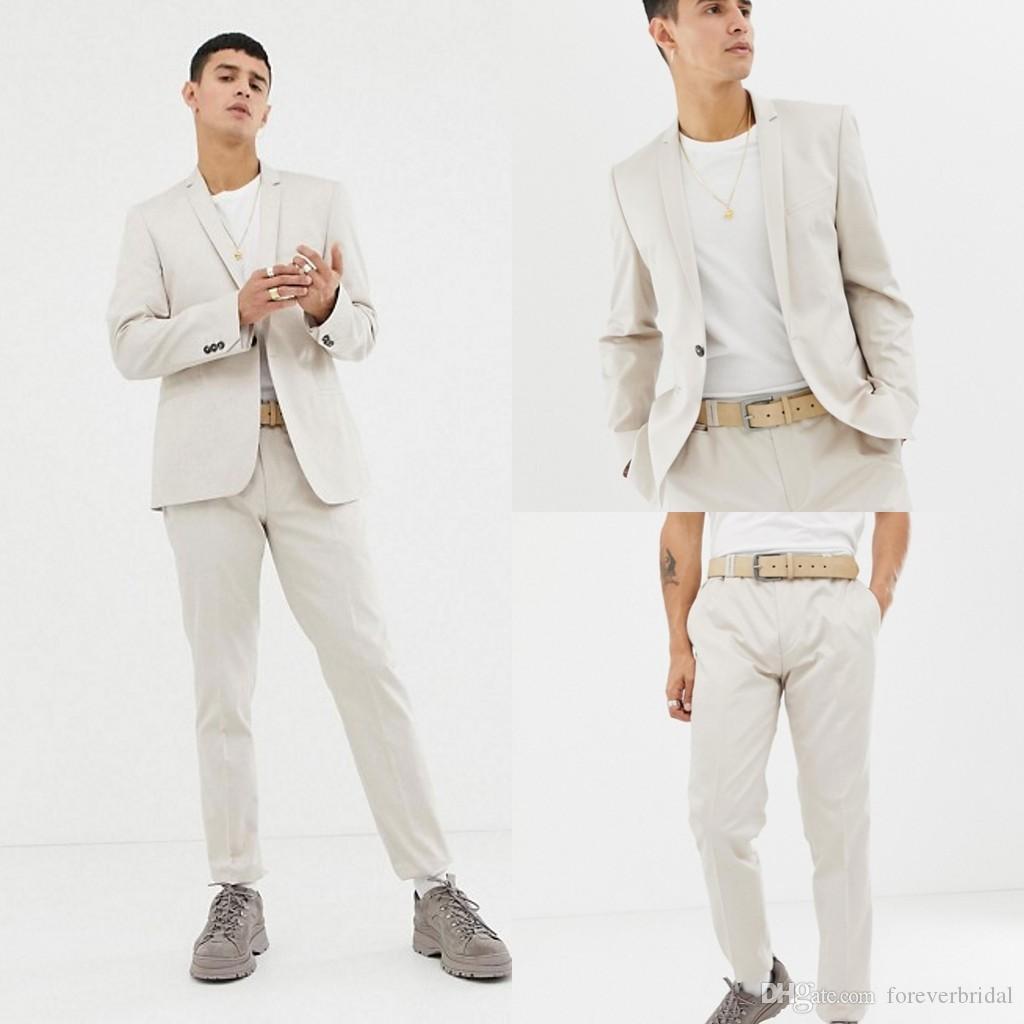 Young Men Wedding Tuxedos Slim Fit One Button Groom Wear Shawl Lapel Designer Formal Jackets (Jacket+Pants)