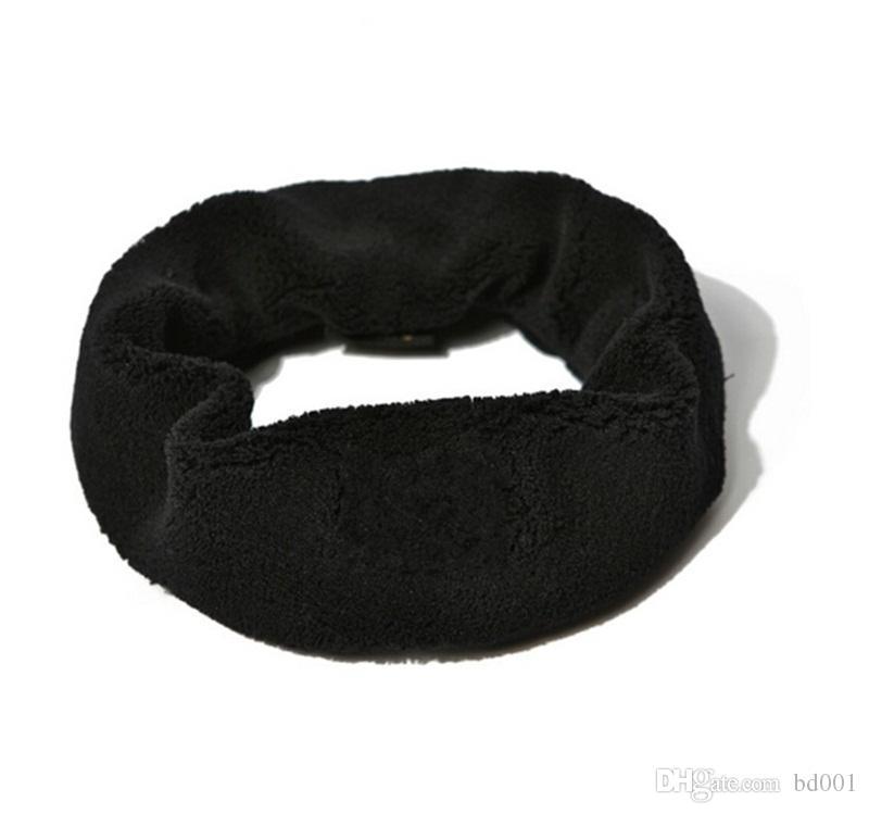 Makyaj Bandı Kadın Kıllar Hoop Klasik Saç Halka Kumaş Logo Beyaz Siyah Ile Sıcak Satış 6 9jl Hairband C1
