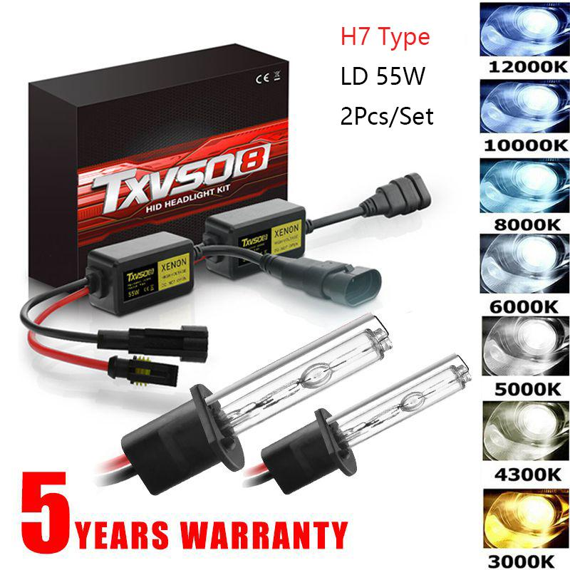 110W Xenon h7 Far Dönüşüm Ampüller H1 H3 H4 H7 H11 9005 9006 880/881 HID İnce Balast Araç Far Kiti 3000K-12000K
