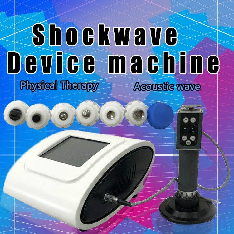 Hot thérapie extracorporelle par ondes de choc acoustique radial pour la machine de physiothérapie ED / Gainswave pour le traitement de la dysfonction érectile