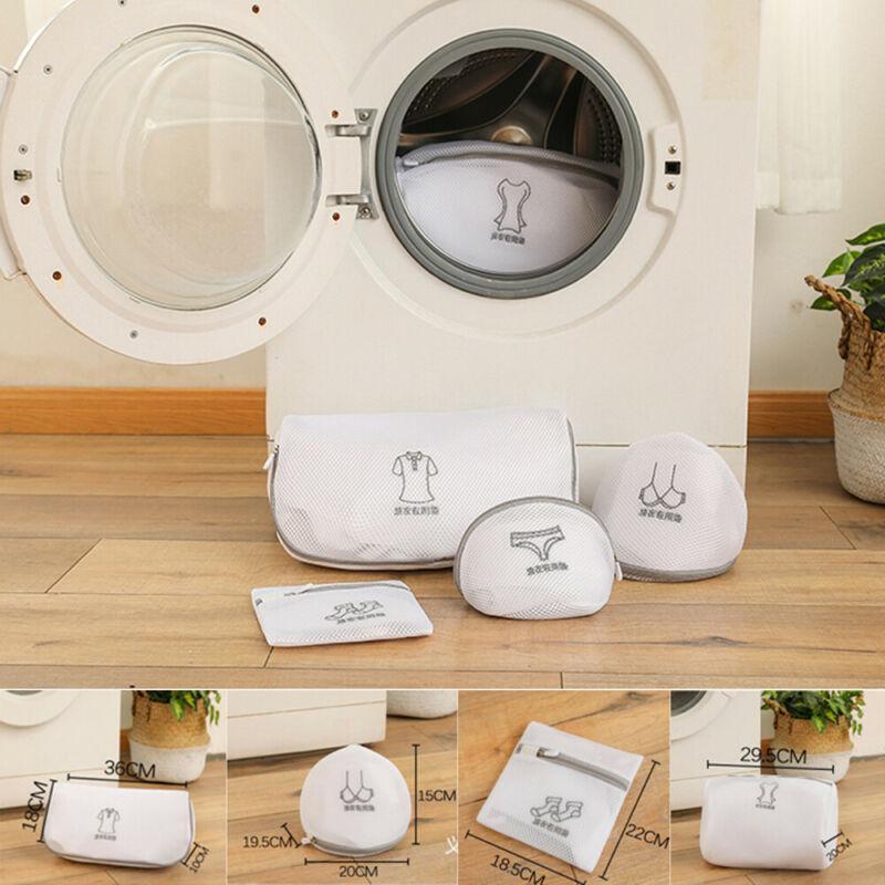 Nakış Yeniden kullanılabilir Çamaşırhane Örgü Elbise Underware koruyun Sütyen Çorap Yıkama Çanta İç Giyim Yıkama Sıkıştırılmış Koruyucu