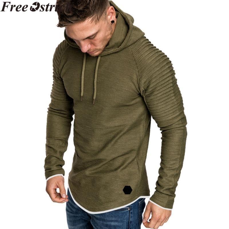 Pullover manica lunga con cappuccio felpe Hip Hop con coulisse invernali swimshirts Coat Plus Size Sport coulisse parti superiori casuali