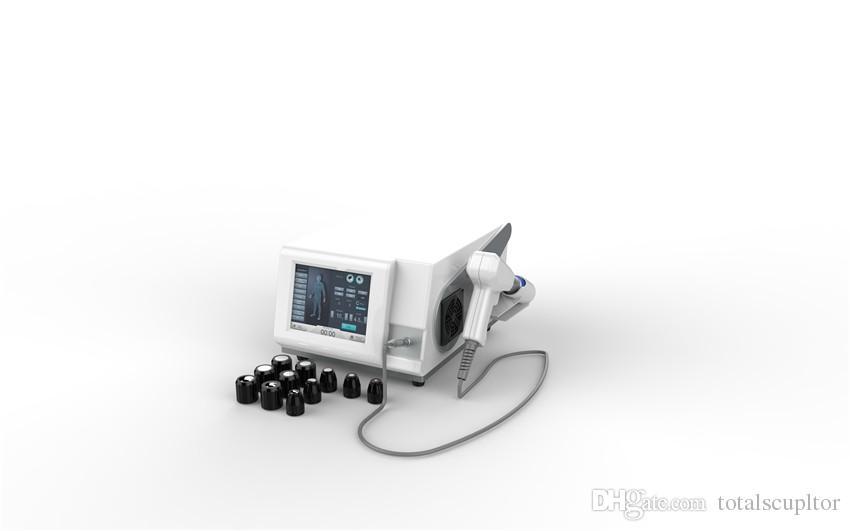 Portable onda ESWT urto della macchina di terapia di fisioterapia / host vendita acustico ad onde d'urto radiali per il trattamento ed