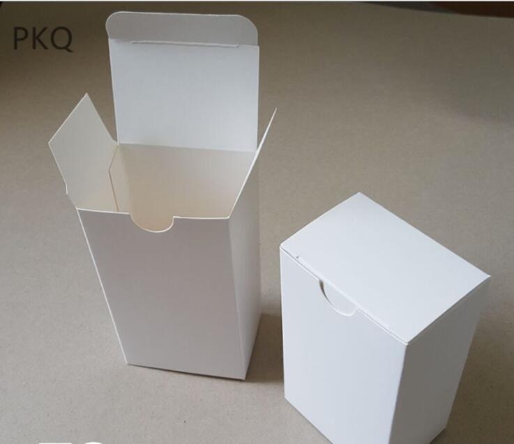 25pcs Livro Branco Embalagem Box Party Favor doces festa de casamento Sabão Handmade caixa de presente caixas de cartão