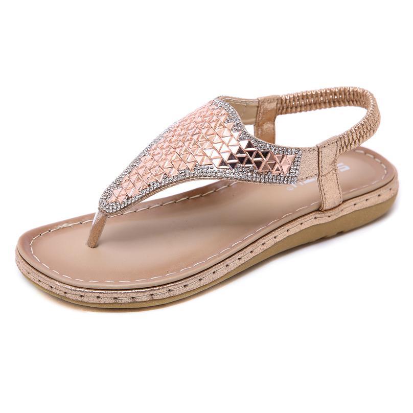 Les femmes sandales de marque flip flops luxe sandales chaussures mode curseurs antiglisse taille des talons plats 35-42 plage casual chaussures en cuir santal