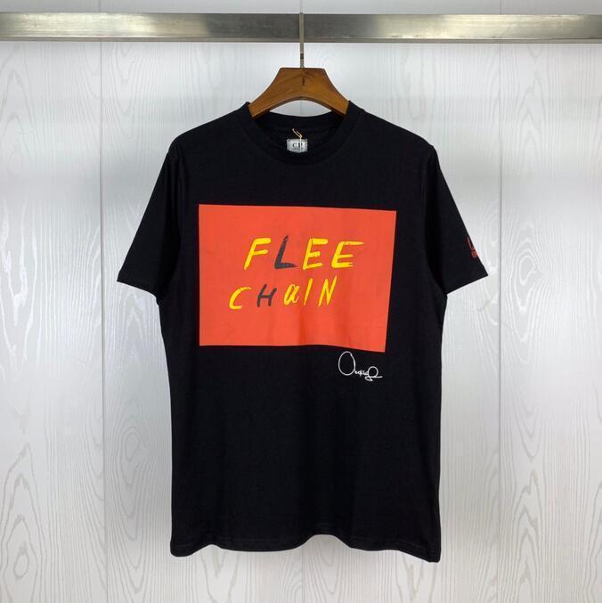 2020SS Hommes Designer T-shirts C.P. Société Capsule Collection Edition Limitée en coton col rond T-Shirt Designer T-shirt noir et blanc
