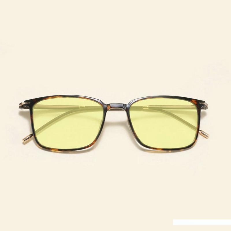 Platz Tungsten Carbon-Kunststoff Stahl Ultra Light Comfort Männer und Frauen Blau lichtundurchlässige Brille JW
