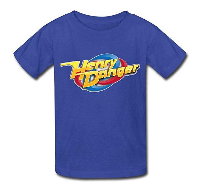 Maglietta a maniche corte con stampa 3D per bambini Hen-Ry Dan-Ger