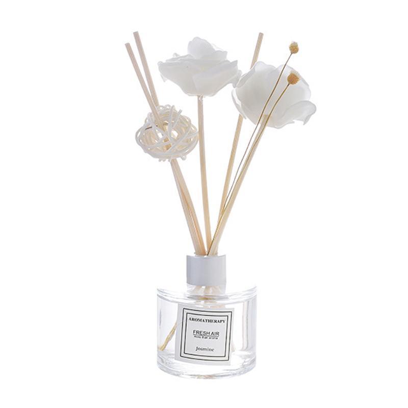 Venta caliente 50Ml Inicio Fragancia de aceite caña de ratán habitación Difusor Perfume Aroma Aceite esencial