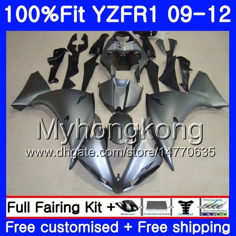 YAMAHA YZF 1000 R 1 YZF R1 2009 2010 2011 2012 241HM.43 YZF-1000 YZF-R1 광택 은색 YZF1000 YZFR1 09 10 11 12 페어링 키트