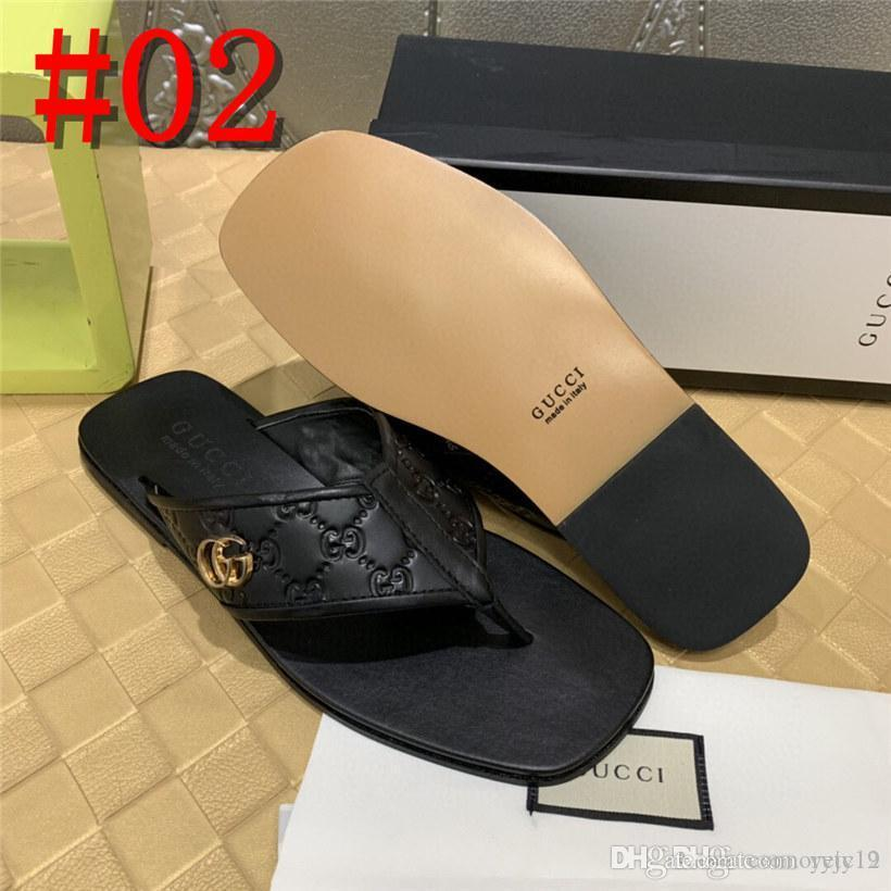 18AS الشرائح SANDALS SUMMER مواليد ماء SLIPPERS مصمم أحذية المياه MEN عالية الجودة المعدنية مصنوعة من الجلد الأسود الوجه بالتخبط الايطالية yetc1