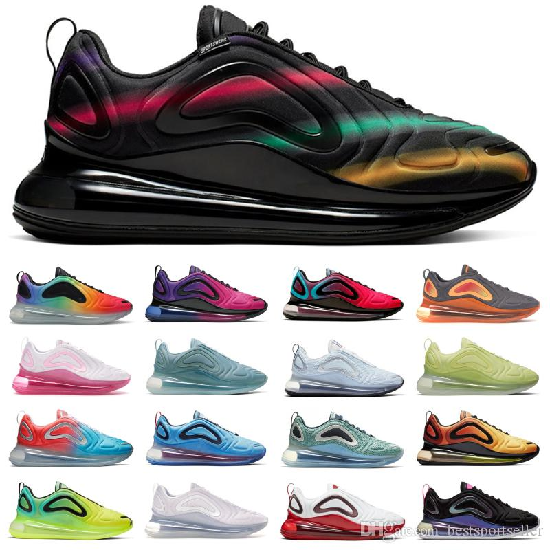 Black Neon Streaks SPIRIT TEAL New Color Northen Lights Day Night Wolf Grey Red Men stylist shoes Sunset Sunrise Running Sneakers Trainers