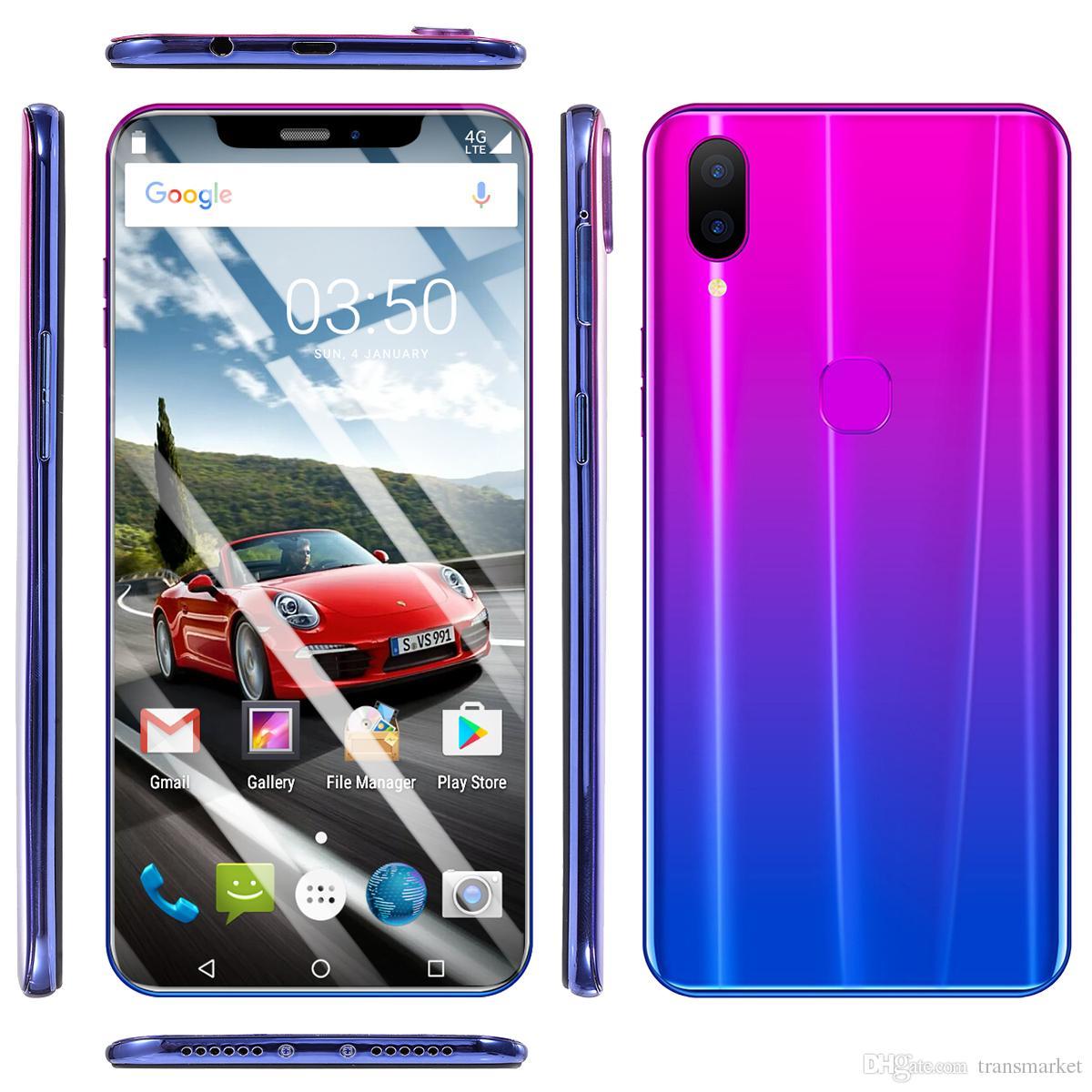 MTK6580 barato octa core 3G X21 Teléfono móvil Pantalla de pantalla de 5,5 pulgadas del teléfono Tarjeta dual con doble modo de espera 512 MB de memoria RAM Rom 4G Teléfono celular
