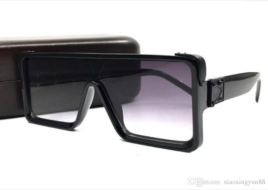 Дизайнерское Качество Рамка Солнцезащитные Очки Высокие Квадратные Мужчины Мужчины Солнцезащитные очки Мужчины Негабаритные Женские Солнцезащитные очки Солнцезащитные Очки От Открытия Открытые Очки TDAX