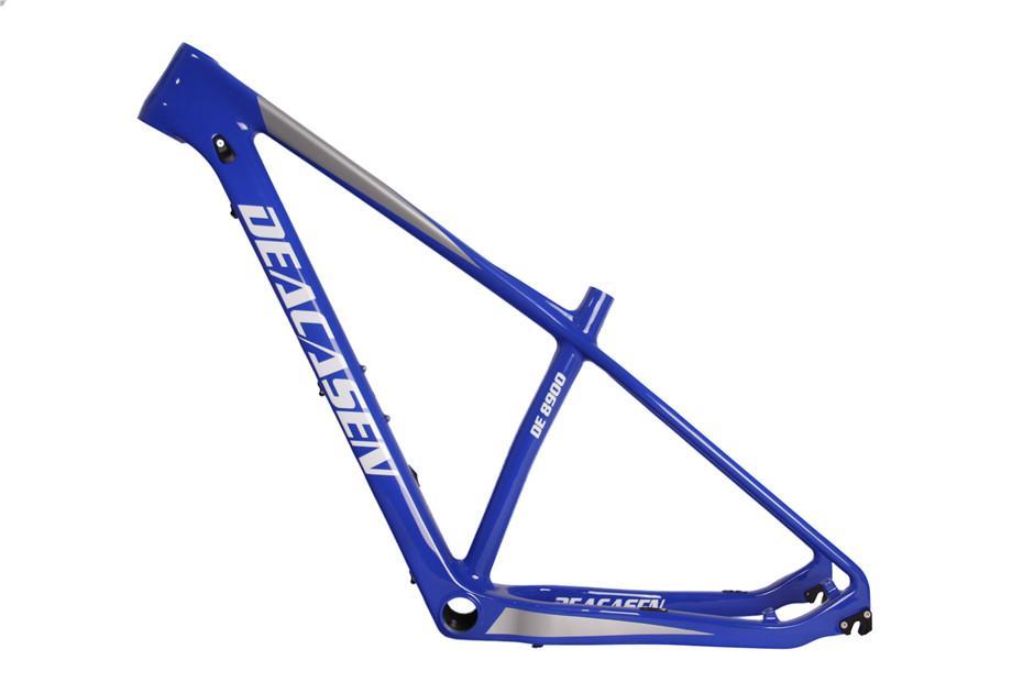 DEACASEN Cuadro de MTB de carbono súper ligero chino más barato UD mate / brillante Di2 y mecánico Marco de bicicleta de montaña T1000 completo