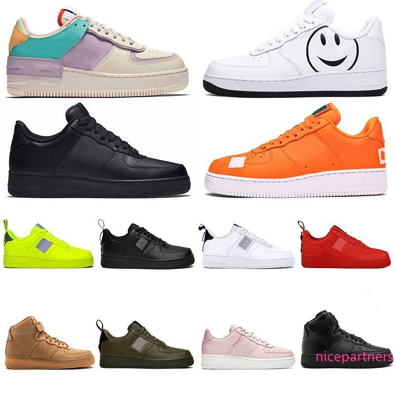 2020 utilidade Mens Skate Shoes Navy Místico preto branco triplo volts oliveiras vermelho linho mulheres ocasional plataforma skate sapatos de designer sneakers