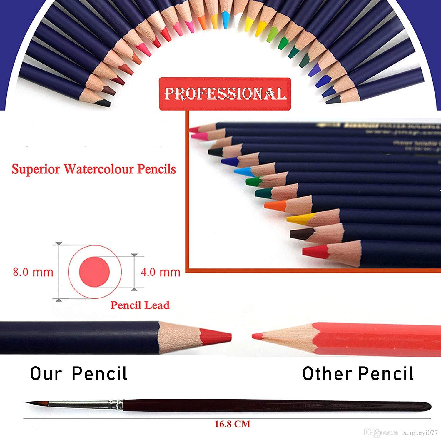Pastels Teens And Adults Travel-Friendly Case Tickas 35 Piece Professional Drawing Pencils with Sketch Book Kit for Kids Sketch Pencils Set with Sketchbook Erasers Complete Artist Kit Includes Pencils